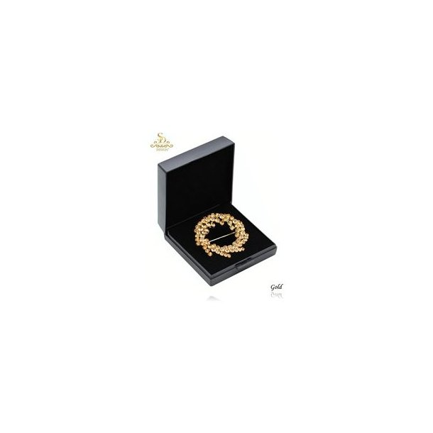 SD® La Beau Plastronnål, guld